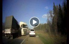 ویدیو تصادف موتر سنگین روسیه 226x145 - ویدیو/ تصادف مرگبار موترهای سنگین در روسیه