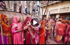 ویدیو جشن لت کوب مردان هند 226x145 - ویدیو/ جشن لت و کوب مردان در هند