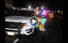 ویدیو خطرناک پولیس شاهراه 226x145 - ویدیو/ اقدام خطرناک پولیس در وسط شاهراه