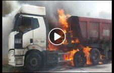 ویدیو راننده تیر آتش 226x145 - ویدیو/ راننده گی با تیرهای آتش گرفته