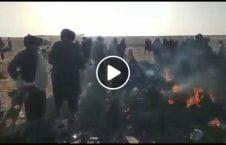 ویدیو طالبان چرخبال آتش هلمند 226x145 - ویدیو/ حضور طالبان در کنار چرخبال آتش گرفته نیروهای خارجی در هلمند