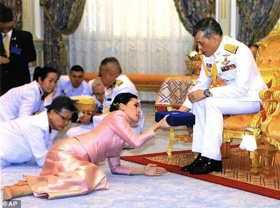 پادشاه تایلند 1 - روابط جنسی نامشروع در میان نیروهای گارد سلطنتی تایلند