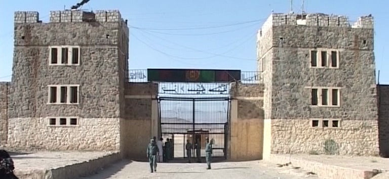 پلچرخی - آزاد کردن شبانه زندانیان طالبان از زندان پلچرخی کابل