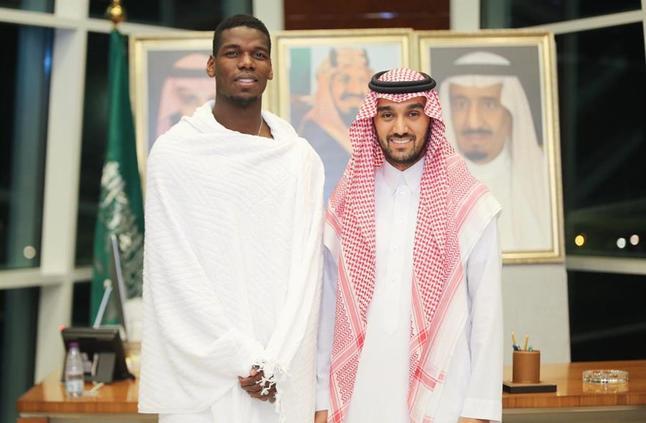 پل پوگبا 2 - ستاره منچستریونایتد وارد عربستان شد