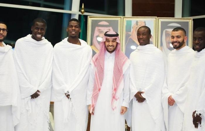 پل پوگبا 3 - ستاره منچستریونایتد وارد عربستان شد