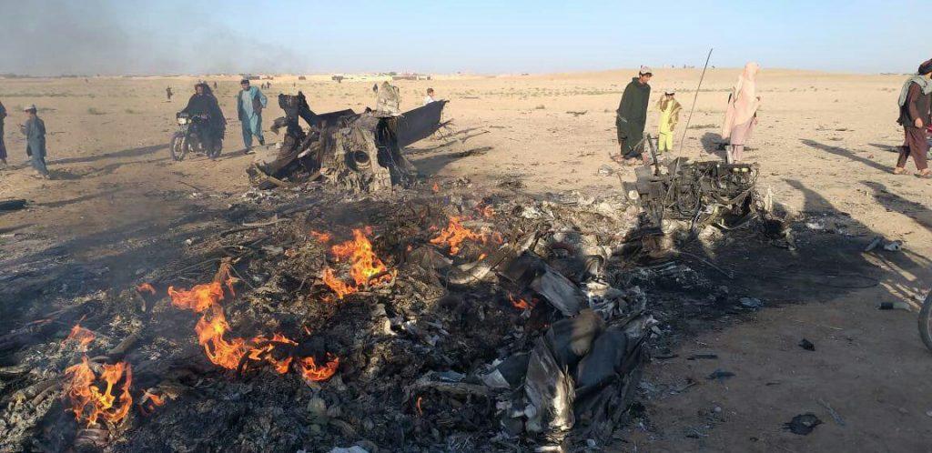 چرخبال امریکا 1 1024x498 - تصاویر/ سقوط چرخبال سی اچ 47 شینوک نیروهای امریکا در افغانستان
