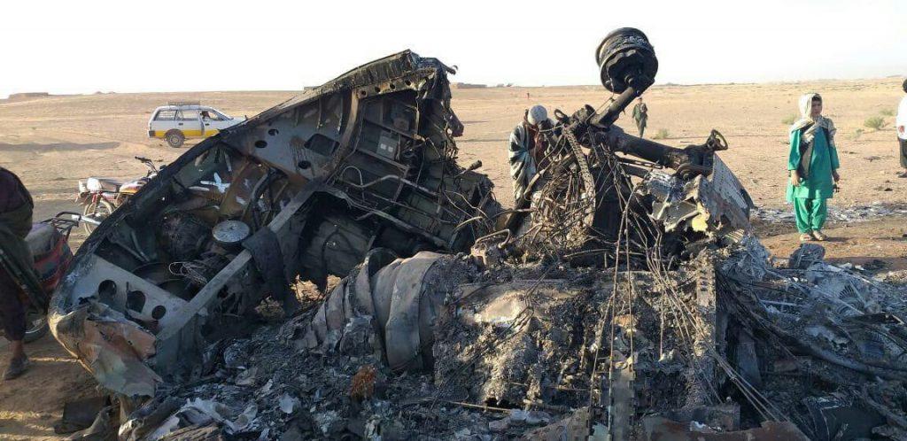 چرخبال امریکا 2 1024x498 - تصاویر/ سقوط چرخبال سی اچ 47 شینوک نیروهای امریکا در افغانستان