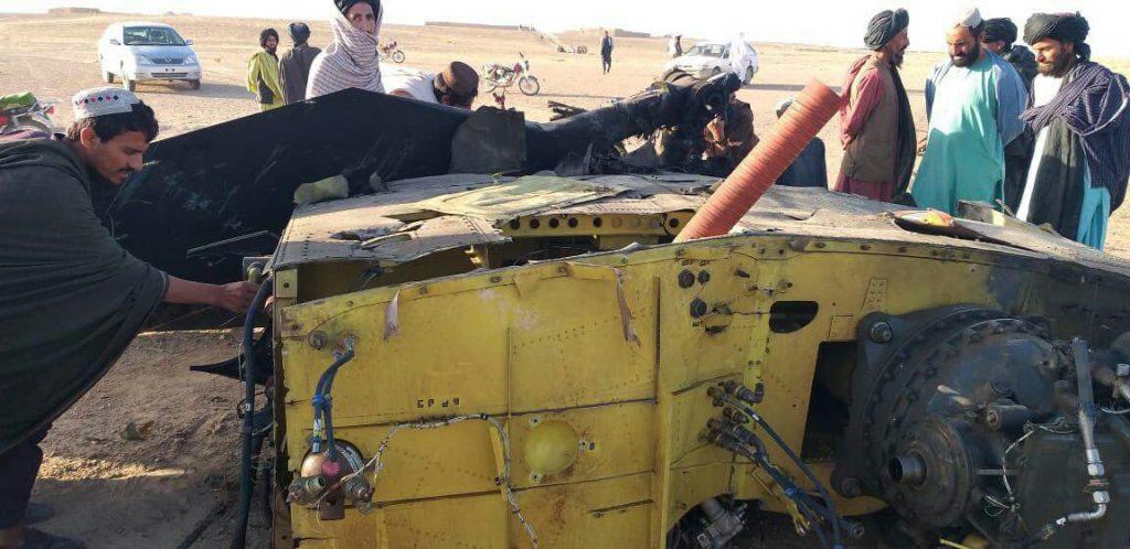 چرخبال امریکا 3 1024x498 - تصاویر/ سقوط چرخبال سی اچ 47 شینوک نیروهای امریکا در افغانستان