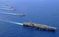 کشتی طیاره بر 226x145 - تهدید ایران با اعزام کشتی طیارهبر امریکایی در خاور میانه