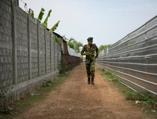 کمپ داعش 1 - تصاویری از کمپ داعش در سریلانکا