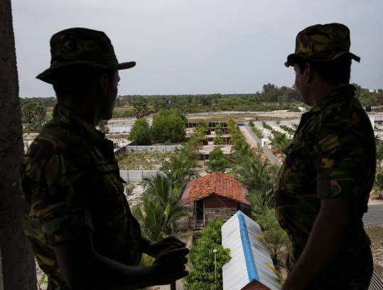 کمپ داعش 10 - تصاویری از کمپ داعش در سریلانکا