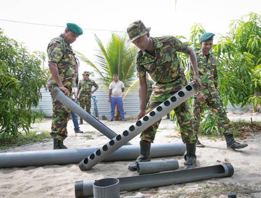 کمپ داعش 11 - تصاویری از کمپ داعش در سریلانکا