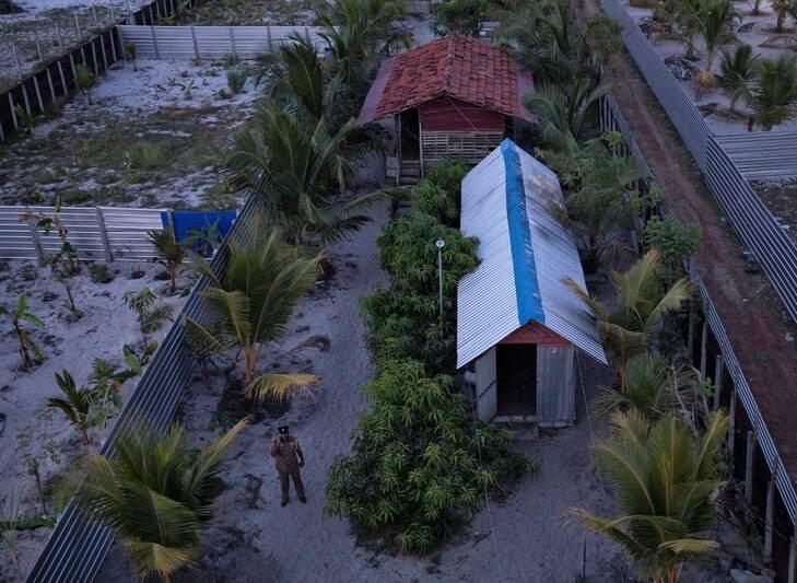 کمپ داعش 2 - تصاویری از کمپ داعش در سریلانکا