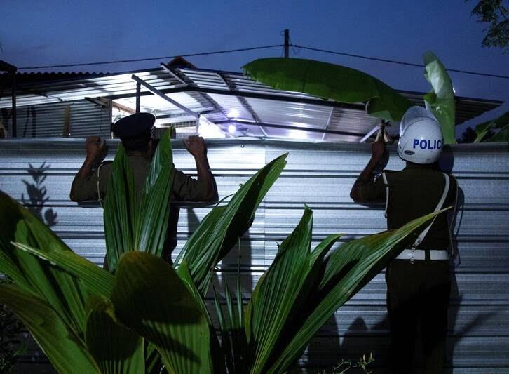 کمپ داعش 4 - تصاویری از کمپ داعش در سریلانکا