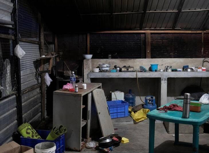 کمپ داعش 5 - تصاویری از کمپ داعش در سریلانکا