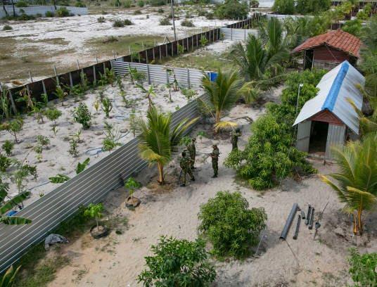 کمپ داعش 8 - تصاویری از کمپ داعش در سریلانکا