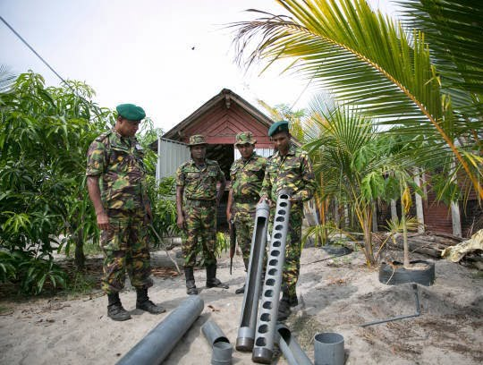 کمپ داعش 9 - تصاویری از کمپ داعش در سریلانکا
