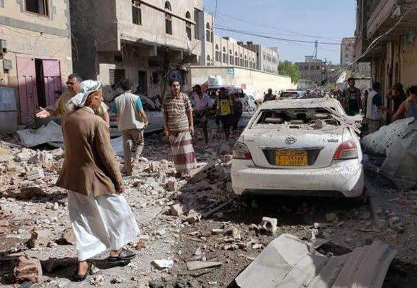 یمن انفجار - وقوع انفجارهای شدید در پایتخت یمن