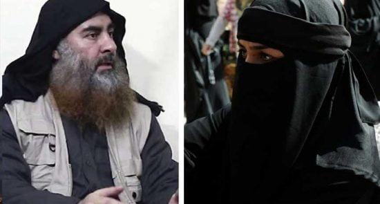 ابوبکرالبغدادی 550x295 - حرکت انتحاری زن داعشی علیه ابوبکر البغدادی