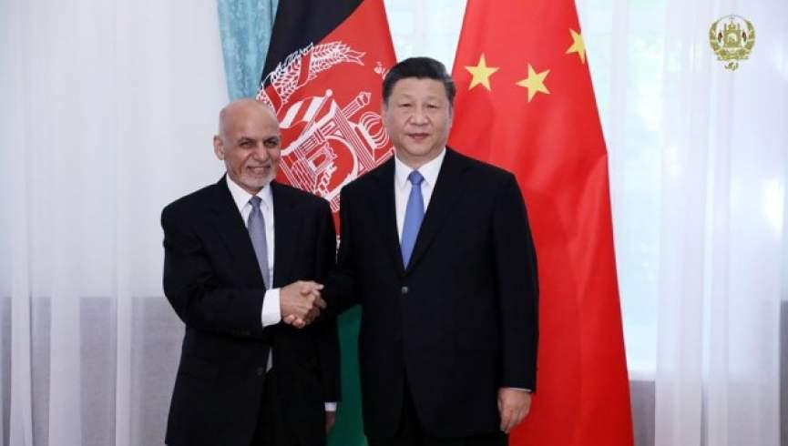 اشرف غنی جینگ پینگ - دیدارهای جداگانه رییس جمهور غنی با رهبران کشورهای چین، هند، اوزبیکستان و قزاقستان