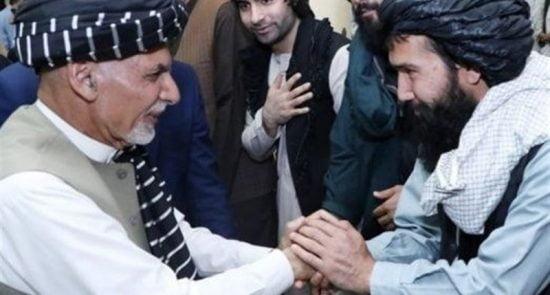 اشرف غنی طالبان 550x295 - درخواست رییس جمهور از طالبان به مناسبت عید سعید فطر