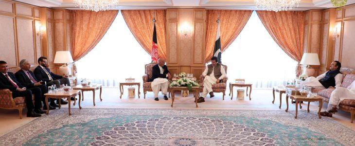 اشرف غنی عمران خان - درخواست رییس جمهور غنی از صدراعظم پاکستان