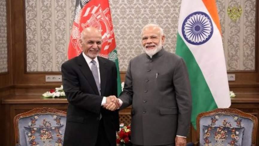 اشرف غنی مودی - دیدارهای جداگانه رییس جمهور غنی با رهبران کشورهای چین، هند، اوزبیکستان و قزاقستان