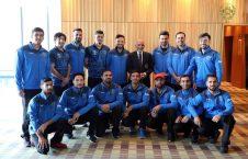اشرف غنی کرکت1 226x145 - تصاویر/ دیدار رییس جمهور غنی با اعضای تیم ملی کرکت کشور در بریتانیا