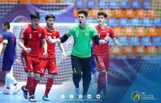 افغانستان فوتسال. 226x145 - حضور گسترده مهاجرین افغان برای تشویق تیم ملی فوتسال در ایران