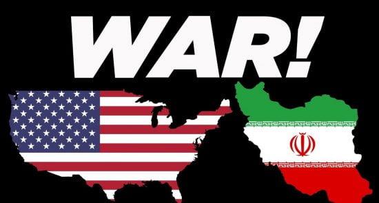 امریکا ایران 550x295 - از حمله راکتی ایران به طیاره امریکایی تا حمله نظامی واشینگتن به تهران
