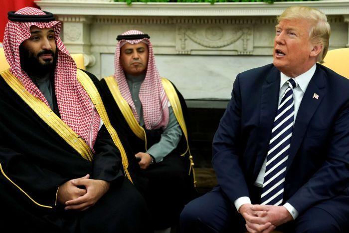 ترمپ بن سلمان - قدردانی عجیب ترمپ از عربستان