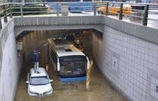 ترکیه باران 3 226x145 - خسارات ناشی از بارش شدید باران در ترکیه + تصاویر
