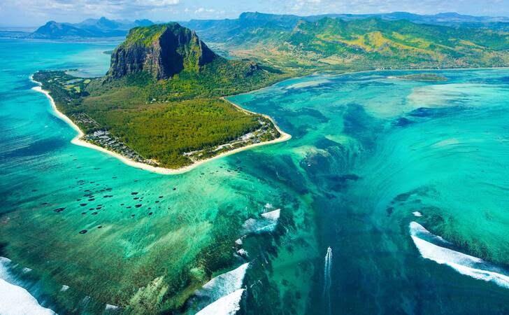 جزیره1 - جزیره زیبای موریس به روایت تصاویر