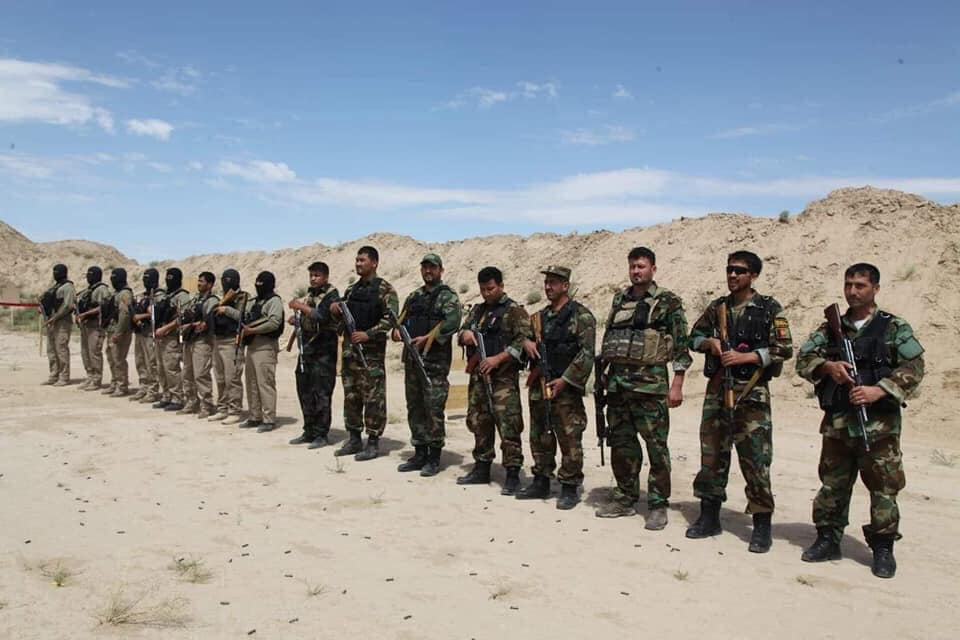 جنرال دوستم 11 - تصاویر/ قدرت نمایی جنرال دوستم برای طالبان