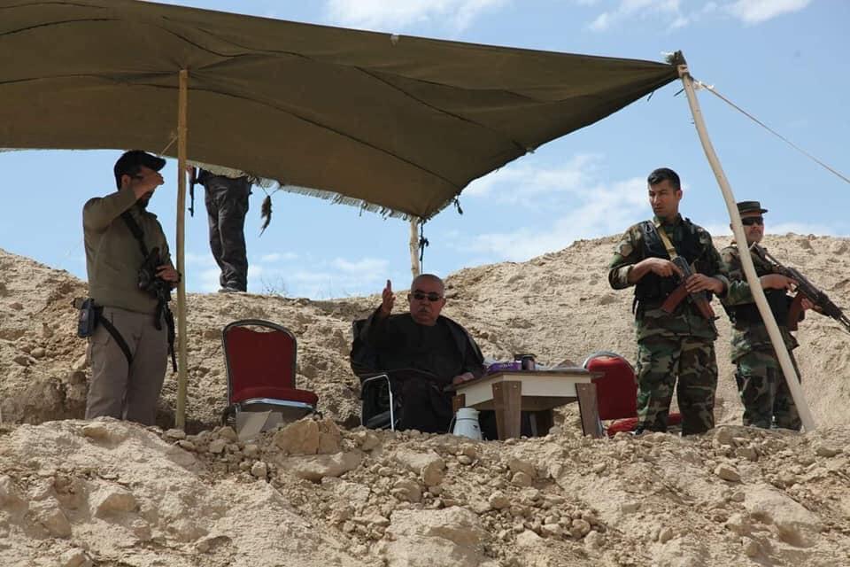 جنرال دوستم 2 - تصاویر/ قدرت نمایی جنرال دوستم برای طالبان