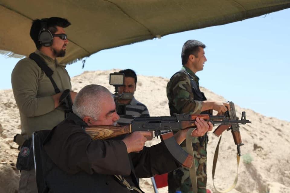 جنرال دوستم 5 - تصاویر/ قدرت نمایی جنرال دوستم برای طالبان