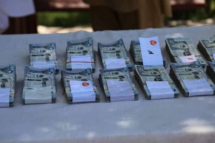 داعش پول 2 - تصاویر/ پول های داعش در دست پولیس ننگرهار
