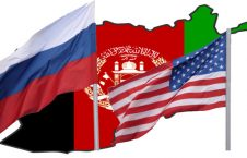 روسیه امریکا افغانسنان 226x145 - کشمکش امریکا و روسیه بر سر مذاکرات صلح در افغانستان