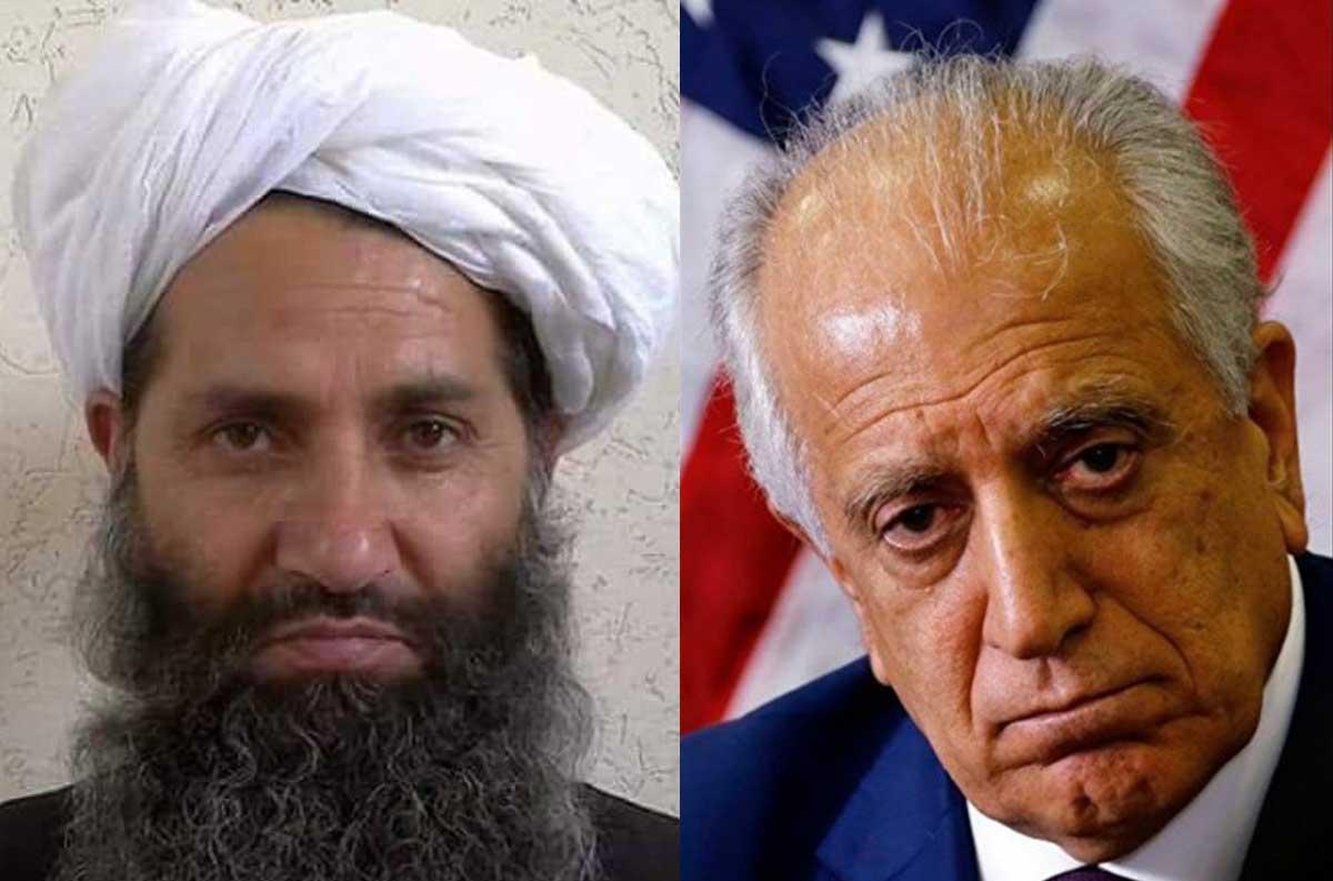 زلمی خلیلزاد ملا هبتالله - اعلامیه وزارت امور خارجه امریکا در پیوند به دور جدید گفتگوهای صلح با طالبان