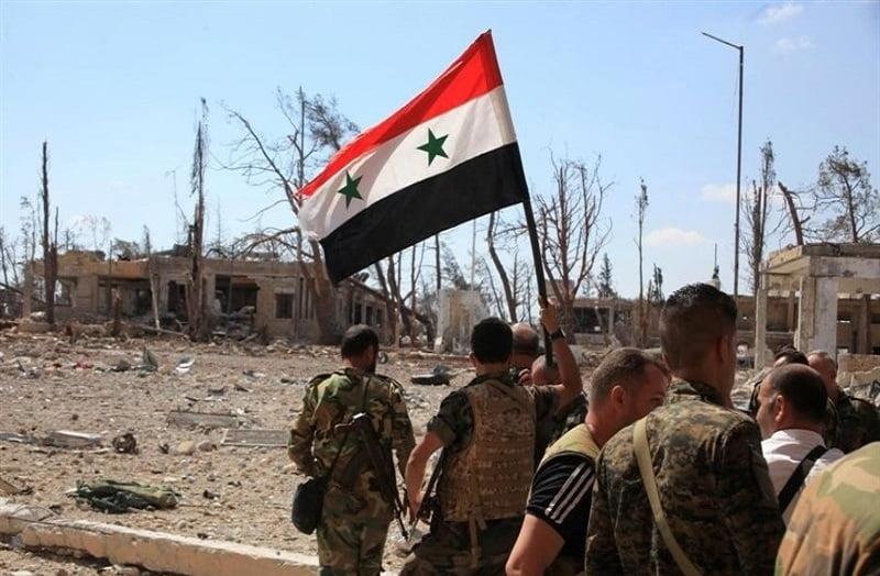 سوریه - عملیات موفقیت آمیز اردوی سوریه علیه تروریستها