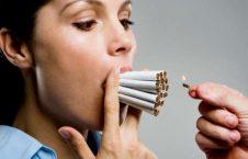 سگرت زن 226x145 - حمله قلبی در کمین زنان سگرتی
