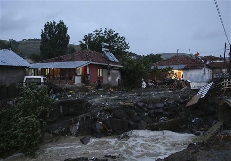 سیل آنکارا2 - خسارات ناشی از بارش شدید باران در ترکیه + تصاویر