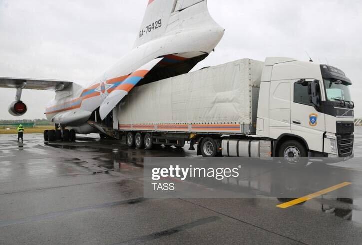 سیل روسیه 4 - تصاویر/ جاری شدن سیلاب ها در مناطقی از روسیه