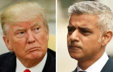 صادق خان دونالد ترمپ 226x145 - توهین شاروال لندن به رییس جمهور امریکا