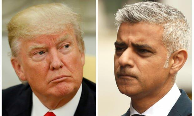 صادق خان دونالد ترمپ - توهین شاروال لندن به رییس جمهور امریکا