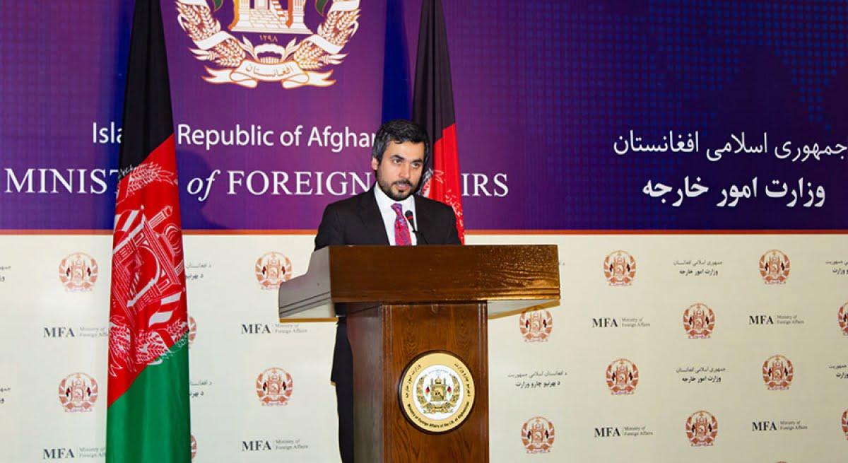 صبغت الله احمدی - نشست خبری وزارت امور خارجه در پیوند به سفر هیئت افغانستان به پاکستان