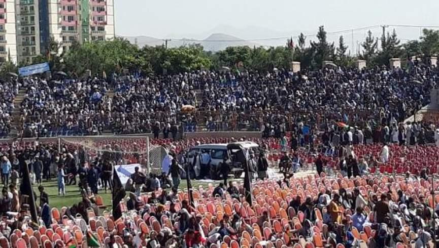 صلح و اعتدال هواداران 1 - طرفداران تیم انتخاباتی صلح و اعتدال به میدان آمدند