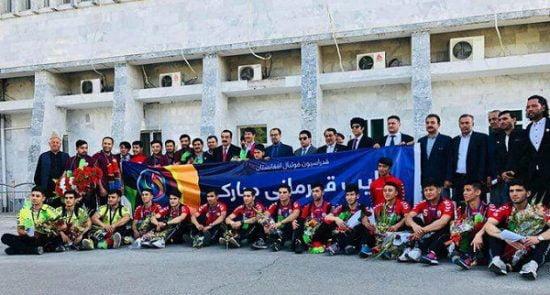 فوتسال 2 550x295 - بازگشت ملی پوشان فوتسال زیر ۲۰ سال کشور به افغانستان