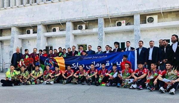 فوتسال 2 - بازگشت ملی پوشان فوتسال زیر ۲۰ سال کشور به افغانستان