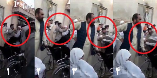 لتوکوب متقاضیان ویزه - عامل لتوکوب متقاضیان ویزه در جلوی سفارت پاکستان دستگیر شد